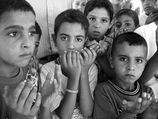 팔레스타인 아이들의 기도 _ 박노해
